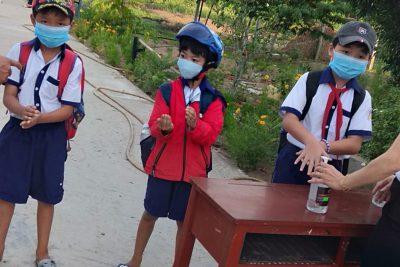 Những hoạt động nhằm đảm bảo an toàn cho học sinh trở lại trường sau nghỉ dịch cô-vít 19